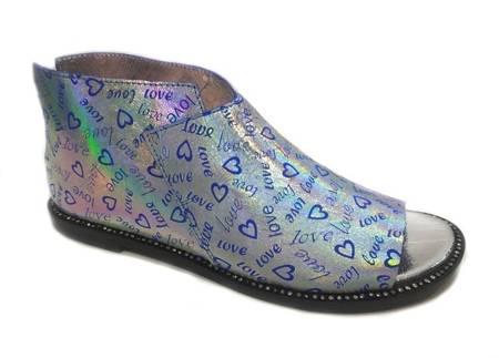 Nowość Włoskie sandałki Holo Love 1520004LL
